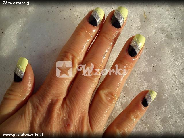 Żółto-czarne ;)