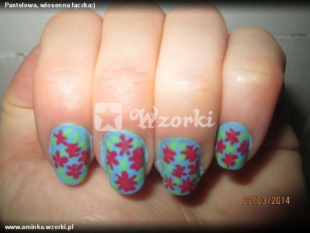 Pastelowa, wiosenna łączka:)