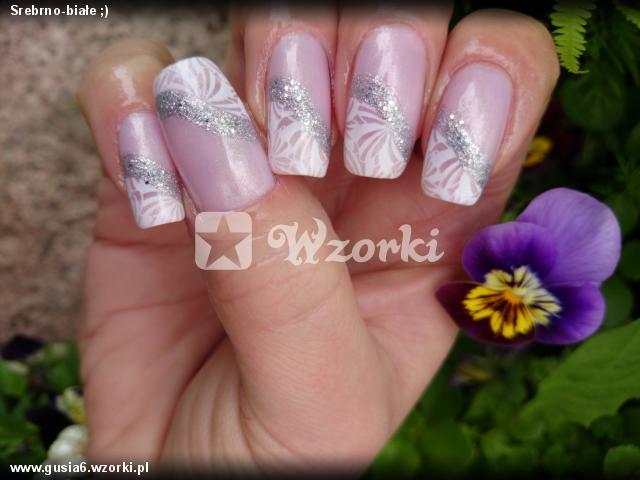 Srebrno-białe ;)