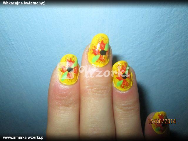 Wakacyjne kwiatuchy;)
