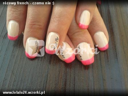 rózowy french - czemu nie :)