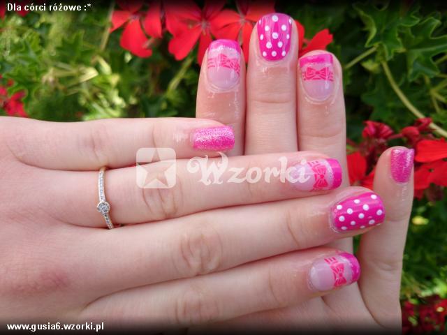 Dla córci różowe :*