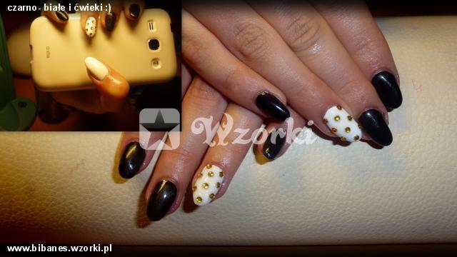 czarno- białe i ćwieki :)