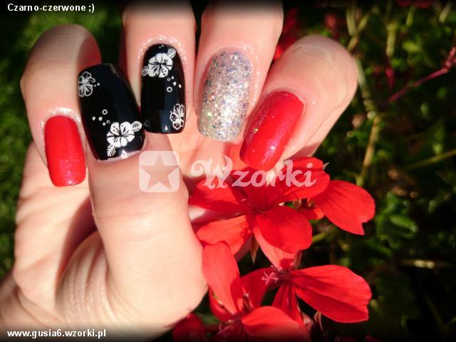 Czarno-czerwone ;)