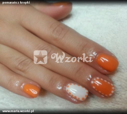 pomarańcz kropki