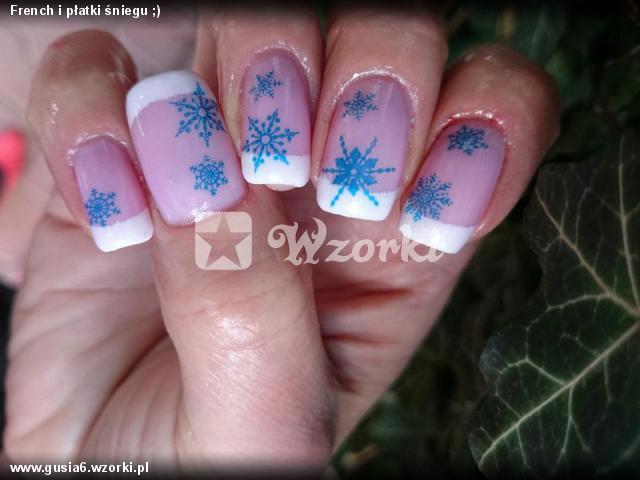 French i płatki śniegu ;)