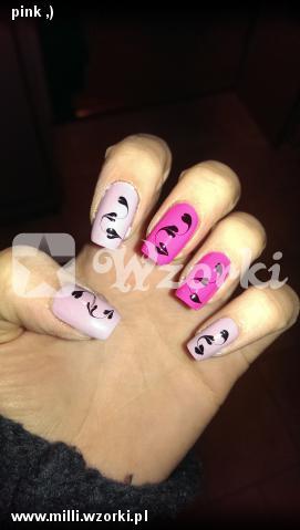 pink ,)
