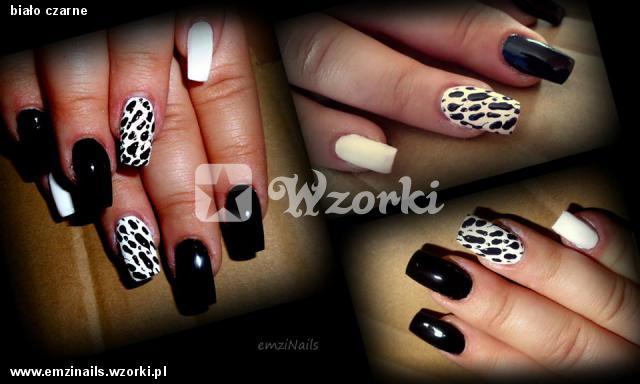 biało czarne