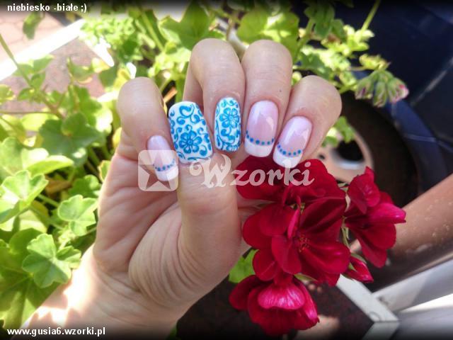 niebiesko -białe ;)