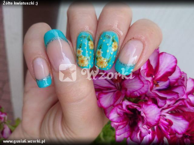 Żółte kwiatuszki ;)