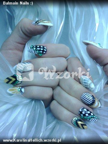 Balmain Nails :)