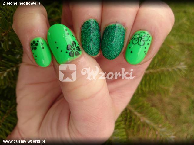 Zielone neonowe :)