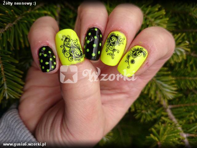 Żółty neonowy :)