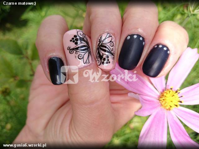 Czarne matowe;)