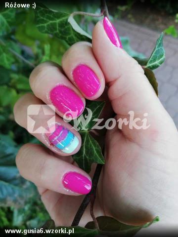 Różowe ;)