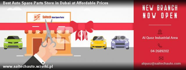 Best Auto Spare Parts Store in Dubai at Affordable Prices