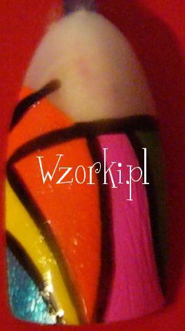Kolorowy wzorek- tips  :)