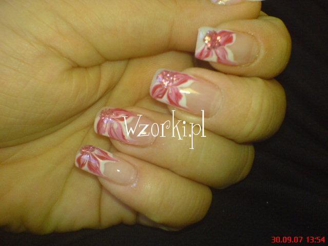 różowe kwiatuchy :)