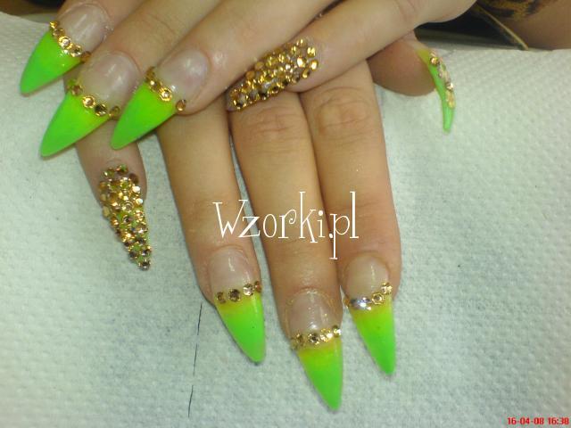 zielony french