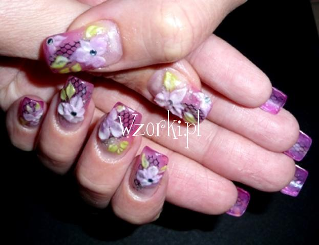 fioletowe wariacje