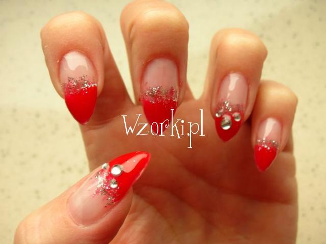 czerwone pazurki:)