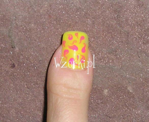 Żółto-różowy