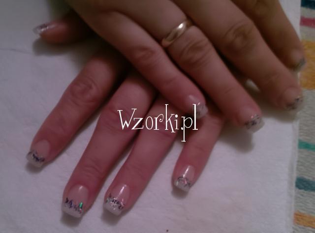 paznokcie które zrobiłam wczoraj
