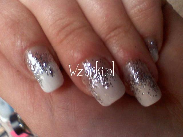biało-srebrne:)