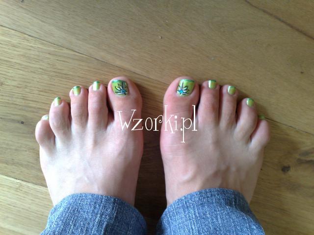 Zielone stópki