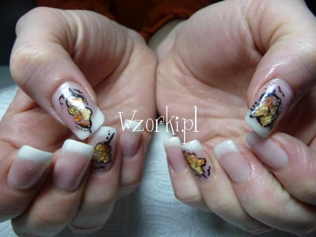 paznokcie żelowe - uzupełnienie