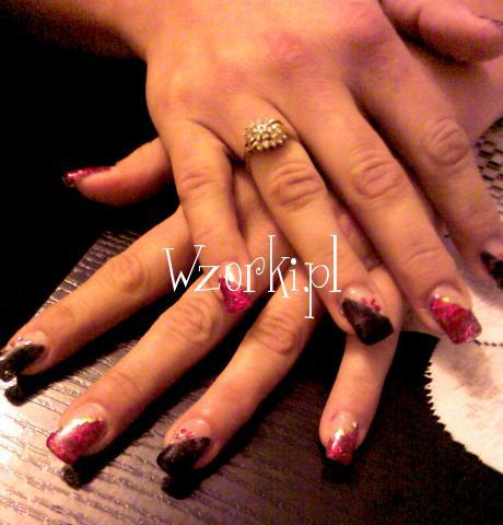 czerwono-czarne