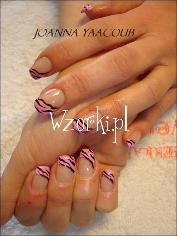 rozowa zebra JY