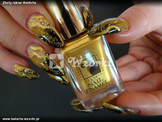Złoty lakier BelArte