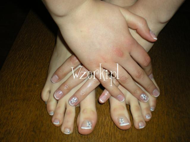 zdobnictwo na naturalnej płytce paznokcia