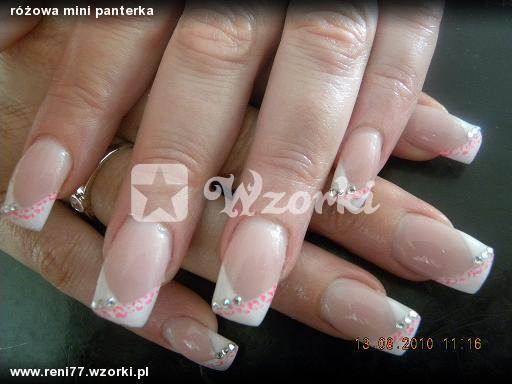 różowa mini panterka