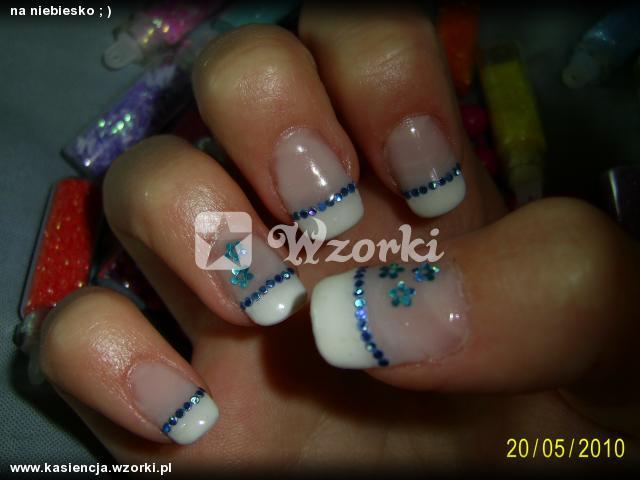 na niebiesko ; )