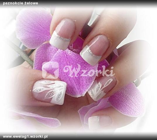 paznokcie żelowe