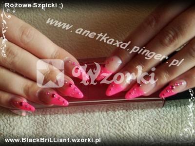 Różowe Szpicki ;)