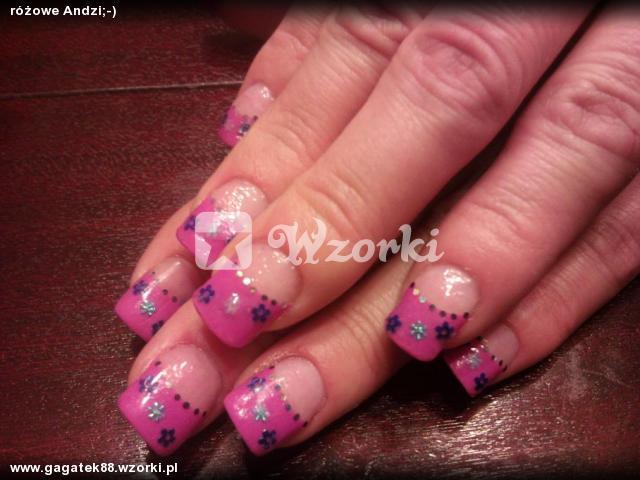 różowe Andzi;-)
