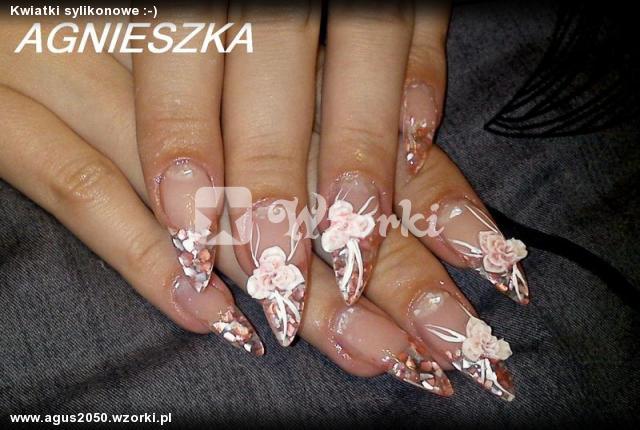Kwiatki sylikonowe :-)