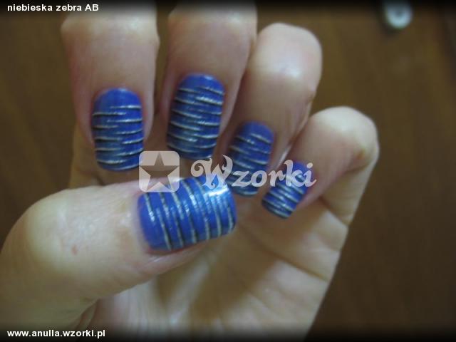 niebieska zebra AB